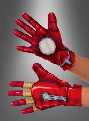 Iron Man Handschuhe Deluxe für Kinder