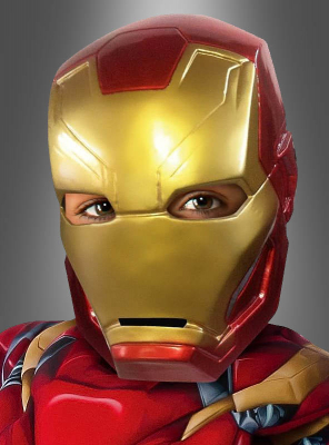 Iron Man Maske für Kinder Mark 42