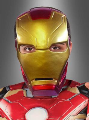 Iron Man Halbmaske Civil War für Erwachsene