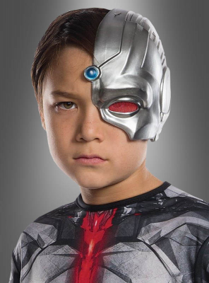 Cyborg Maske für Kinder Justice League