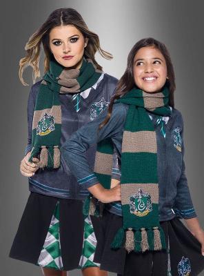 Slytherin Schal grün Harry Potter