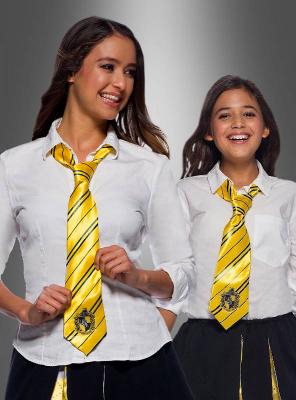Hufflepuff Krawatte gelb