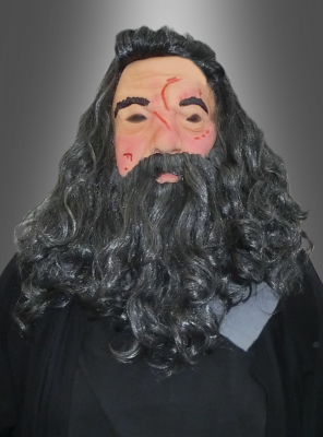 Hagrid Latex Vollmaske