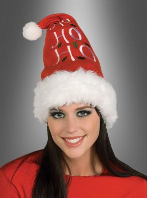 Ho Ho Ho Hat Santa Christmas