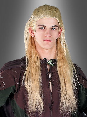The Lords of the Rings adult Legolas wig blonde