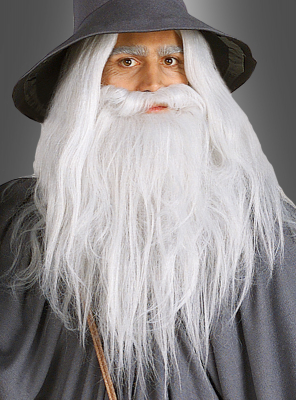 Lord of the Rings Gandalf Beard and Wig Set
