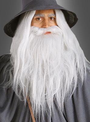 Der Herr der Ringe Gandalf Bart Set Erwachsene