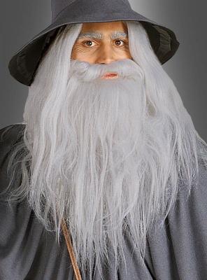 Herr der Ringe Gandalf Bart Set