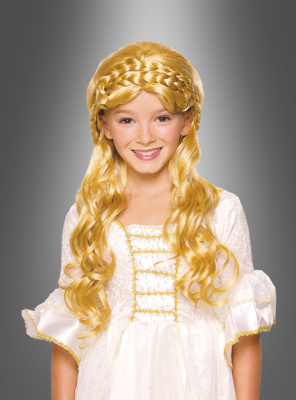 Kinderperücke Prinzessin Perücke BLOND