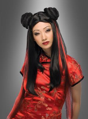 Miss Chow Asien Perücke