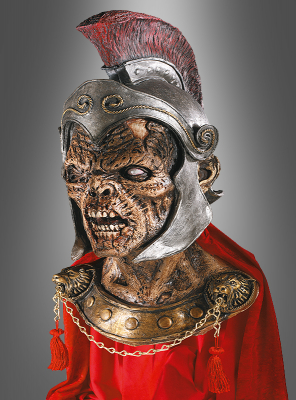 Trojaner Zombie Kreatur Latex Maske