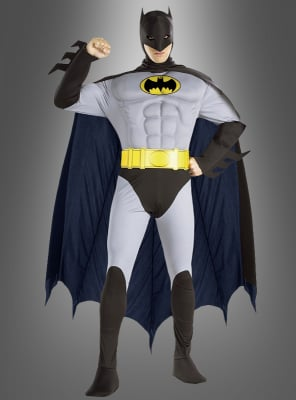 Batman Muskelanzug grau