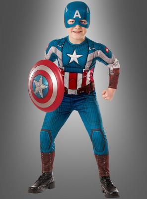 Captain America Kinder Muskelkostüm