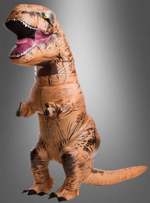 Tyrannosaurus Rex Kostüm Dinosaurier aufblasbar