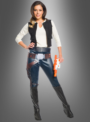Han Solo Female Adult Costume Star Wars