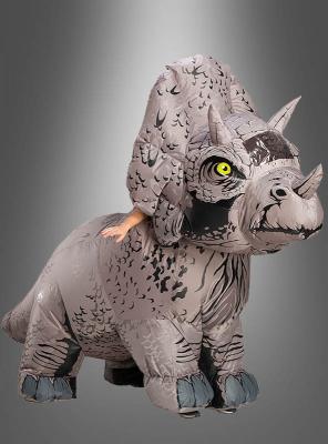 Aufblasbares Triceratops Kostüm Jurassic World