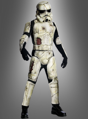 Zombie Stormtrooper Kostüm Death Trooper