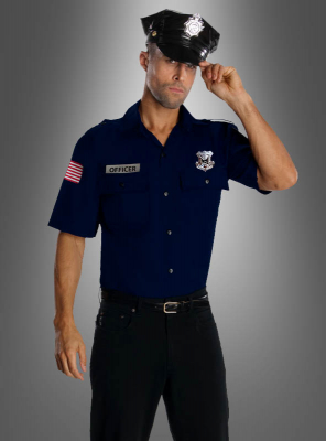 Uniform Polizei US Officer Kostüm
