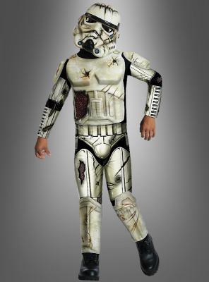 Zombie Stormtrooper Costume for Kids