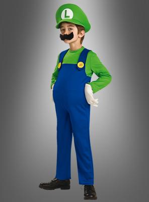 Luigi aus Super Mario Kart Kinderkostüm