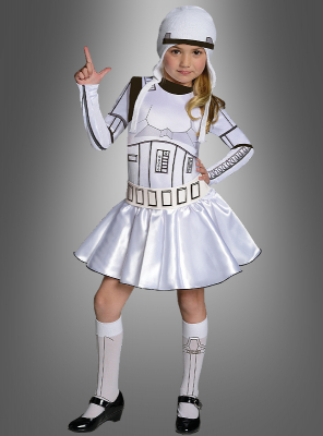 Stormtrooper Costume for Girls