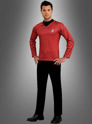 Star Trek Shirt red Scotty
