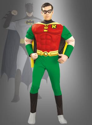 Deluxe Muskel Shirt Robin Filmkostüm