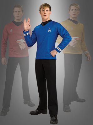 STAR TREK Uniform blau Film XI