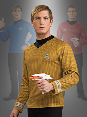 STAR TREK Film XI Shirt gold Captain Kirk