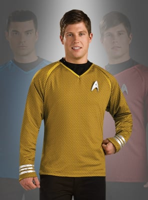 Star Trek XI Grand Heritage Shirt gold Kirk