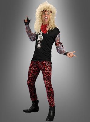 Heavy Metal Hair Band Costume