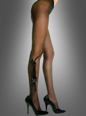 Tiger Tattoo Pantyhose