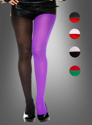 Opaque jester Tights plus Size