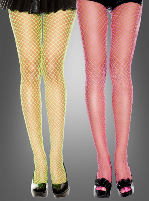Fishnet Tights Neon Colours