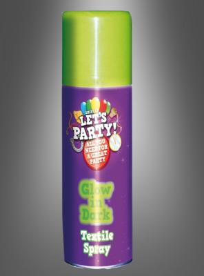UV Textil Leuchtspray neon grün