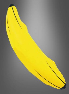 Inflatable banana yellow