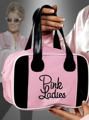 Pink Ladies Bowling Bag Grease