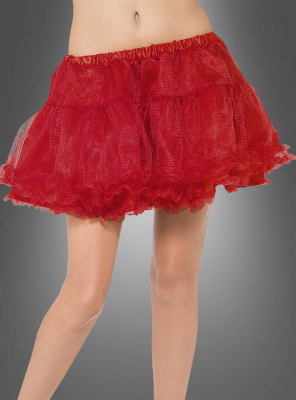 Tulle Petticoat red