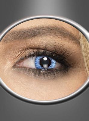 Blaue Kontaktlinsen Tageslinsen