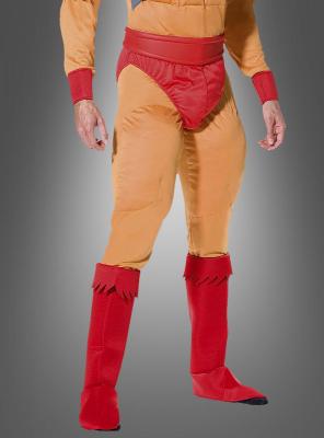 Rotes Helden Stiefelüberzieher Set