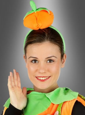 Pumpkin Headpiece orange
