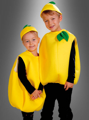 Lemon Fruit Costume Child