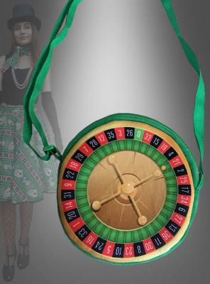 Roulette Handtasche zum Kostüm