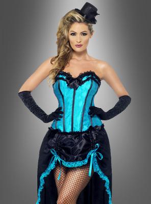 Burlesque Tänzerin Korsage