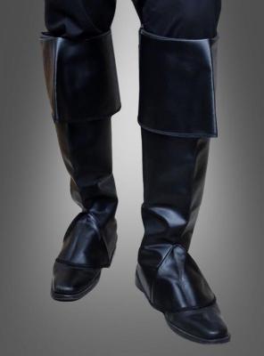 Stiefelüberzieher Pirat schwarz