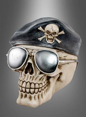 Totenkopf Schädel Halloween Deko