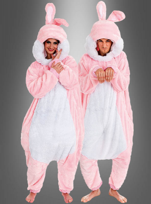 Plush Rabbit Adult Costume