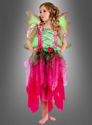 Enchanted Flower Fairy Costume Girls