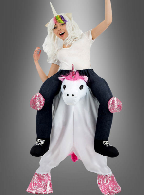 Carry me Piggyback Unicorn Costume