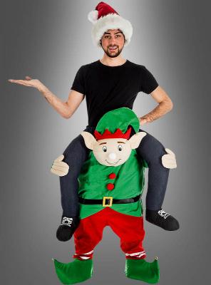 Carry Me Piggyback Elf Costume